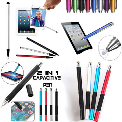 For Tablet iPad Phone Samsung PC Capacitive Pen Touch Screen Stylus Pencil