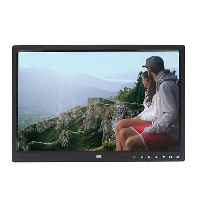 15zoll Digital Foto Bilderrahmen Wecker Player 1280*800 TFT LED Touchscreen
