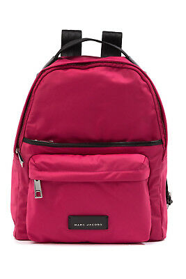 fb3b80e980f432 NEW MARC JACOBS Large Nylon Backpack Top Handle Carnation PINK  250+  AUTHENTIC!