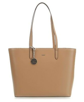 Borsa DKNY Donna Karan New York bryant shopper R83A3654 lat latte