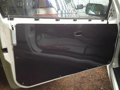 1x BMW E36 COUPE-M3-328-325 Carbon Effect or Gloss Black Door Card Panel, Race