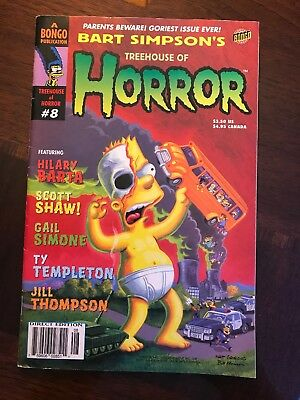 2018 SIMPSONS TREEHOUSE Of Horror XXIX Promo Lenticular Box +5 Past
