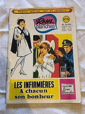 Roses Blanches Numeros Special Les Infirmieres 1968 Aredit A Chacun Son Bonheur