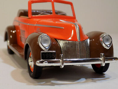 1940 Ford Convertible Trustworthy Hardware # 1 Die-Cast Coin Bank  Nos