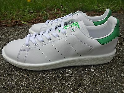 b15178ec0a755f Adidas Boost Stan Smith White w Green Suede BB0008 men s shoes sneakers  trainers