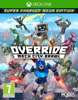 Override: Mech City Brawl Super Charged Mega Edition Xbox One Brand New Sealed
