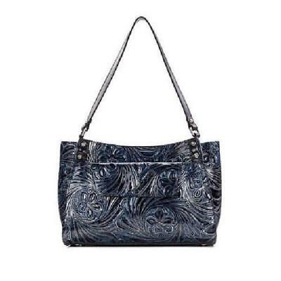 ce5c70295fd2 PATRICIA NASH Navy Leather Vincenzo Slouchy Hobo Bag.  59.00 Buy It Now 3h  59m. See Details. Patricia Nash Romina Metallic Blue Leather Tote    Matching ...