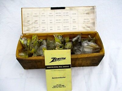 LOT of 24..VTG ZENITH..REPLACEMENT PARTS..for RADIO/ TV ETC..ALL SEALED.AS SHOWN