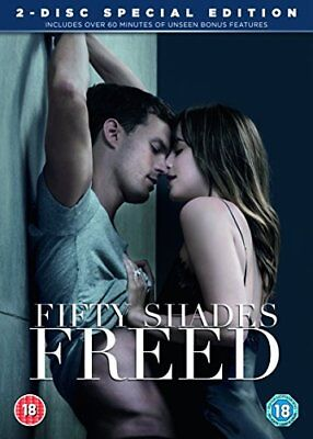 Fifty Shades Freed DVD + Bonus Disc + Digita with Dakota Johnson New (DVD  2018)