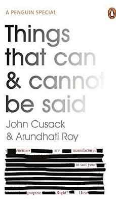 Things That Can and Cannot Be Said by John Cusack New Paperback Book