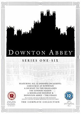 Downton Abbey - The Complete Collection  with Hugh Bonneville New (DVD  2016)
