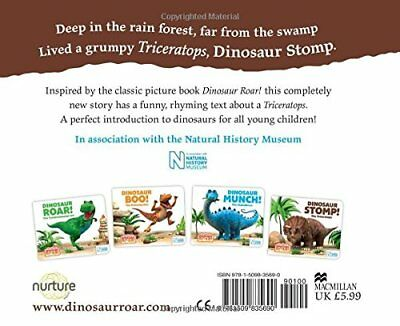 Dinosaur Stomp! The Triceratops by Jeanne Willis New Board book Book