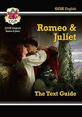 Grade 9-1 GCSE English Shakespeare Text Guide -  by CGP Books New Paperback Book