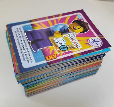 Full Set Of 140 Create The World Incredible Inventions Lego Cards - Fast - New