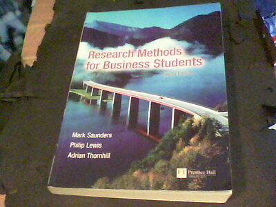 Research Methods for Business Students 4th edition by Mark Saunders   s25b
