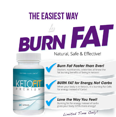 KETOFIT PREMIUM (60 Capsules) EXTREME WEIGHT LOSS - FREE SHIPPING WORLDWIDE