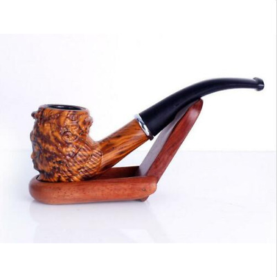 Handmade Durable Quality Resin Pipes Smoking Tobacco pipe Cigarette Pipes Gift U