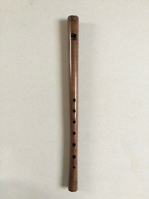 ORIGINAL RENAISSANCE FLUTE, about 1550, youtube sample, flauto dritto antico old