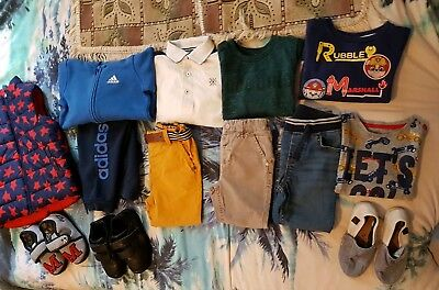 Boys Bundle clothes18-24 months 2-3years Adidas trainers Next pumps and slipper
