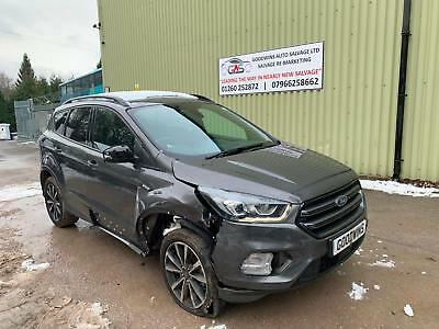 T And T Repairables >> 2018 18 Ford Kuga St Line 1 5t 150ps Ecoboost Damaged