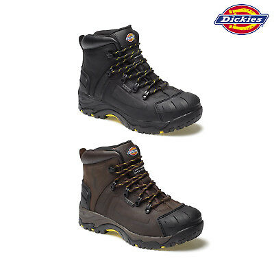 cc52868f7bd DICKIES FD23310 MEDWAY Safety Boots Thinsulate Steel Toe Leather ...