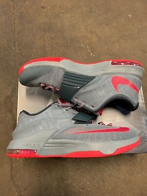 Nike Air Zoom KD 7 VII Calm Before Storm Gray Hyper Punch 653996-060 Men s f09928cd67