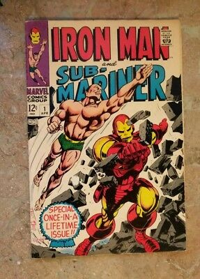 Iron Man And Sub-Mariner #1 - One Shot - High Grade - Pre Dates Both #1 Issues