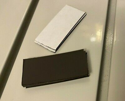 20mm X 20mm Cut Self Adhesive Magnet strip Magnetic pieces  Sticky Magnet Tape