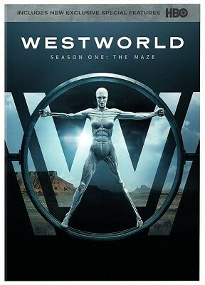 "Westworld: The Complete First Season ""The Maze"" (2017) DVD Brand New Sealed."