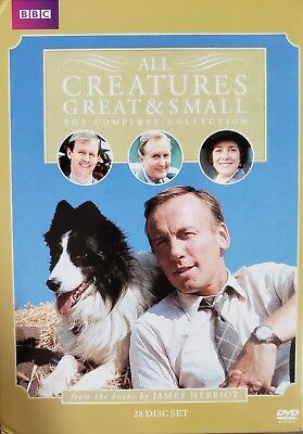 All Creatures Great & Small Complete Collection (DVD, 2010, 28-Disc Set) USED
