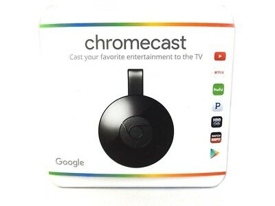 Google Chromecast HD Media Streamer - Black