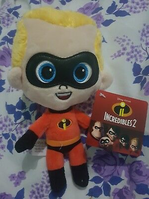 Brand New Exclusive 7Inch Adorable Plush Dash From Incredibles 2