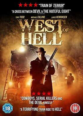 West of Hell  with Tony Todd New (DVD  2019)