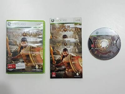 Rise Of The Argonauts w/ Hint Book Xbox 360 Used SAME DAY FREE SHIPPING