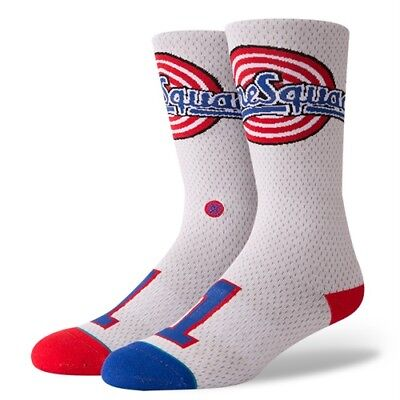 Stance x Space Jam Tune Squad Jersey Crew Socks Large Mens 9-12 Looney Tunes