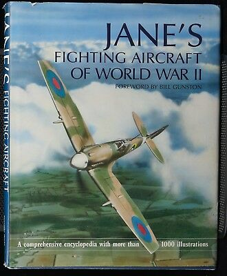WW2 US British German Janes Fighting Aircraft Of World War 2 Reference Book