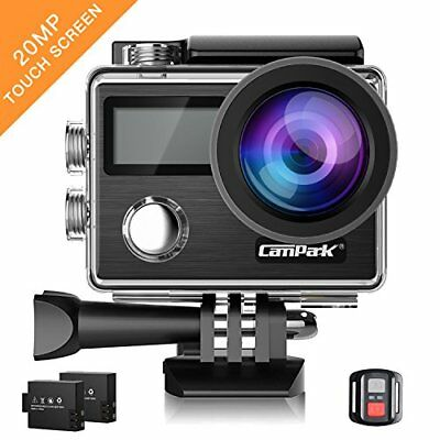 Campark 20MP Action cam Impermeabile Sport Action Cam 4K Action Camera Wifi 170