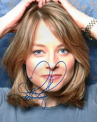 JODIE FOSTER AUTOGRAPHED SIGNED A4 PP POSTER PHOTO PRINT