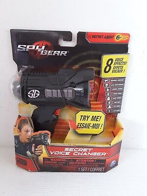 New Spy Gear Secret Voice Changer - 8 voice effects - Spin Master