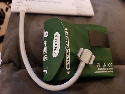 Welch Allyn Durable Re-Usable Blood Pressure (BP) Cuffs Sizes 9 Tube