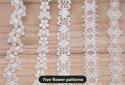 1 Yard Vintage  Lace Edge Trim Ribbon Embroidered Applique DIY Sewing Craft
