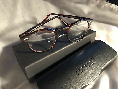 da2cfc5c56 NEW OLIVER PEOPLES glasses OV5186 Gregory Peck 47 mm Tortoise Italy ...