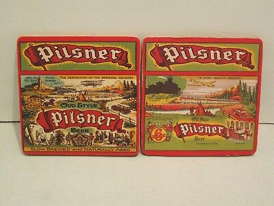 Molson Old Style Pilsner Beer Coasters