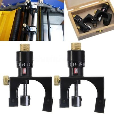 2X Adjustable Planer Blade Cutter Calibrator Setting Jig Gauge Woodworking To YG