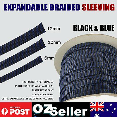 Heavy Duty Braided Cable Sleeve Expandable Braiding Sleeving Wire Sheath Guard