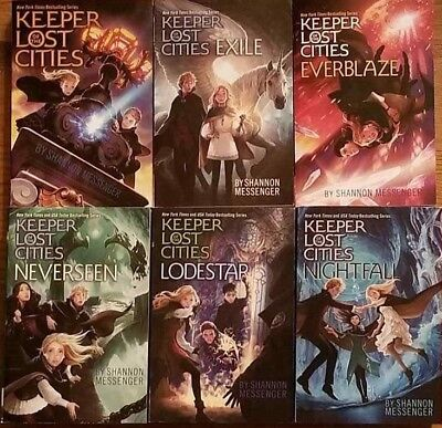 Keeper of the Lost Cities: Books 1, 2, 3, 4, 5, and 6  by Shannon Messenger