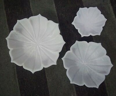Limited 3 Pieces Set of Carving Marble Octagon Bowls Hotel Room Decorative Handm