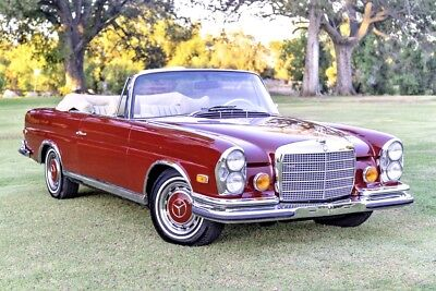 1971 Mercedes-Benz 200-Series 280SE TUNNING 280SE 3.5 Convertible, desirable floor shift, gorgeous condition!! LOOK