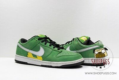 new product e7c3d b85c6 2006 Nike Dunk SB Low Green Taxi size 10.5 w Box grass white  TRUSTED