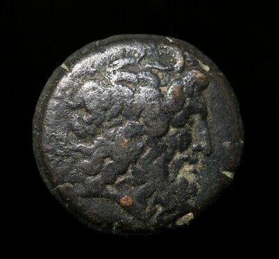 Ancient Greek Bronze Coin
